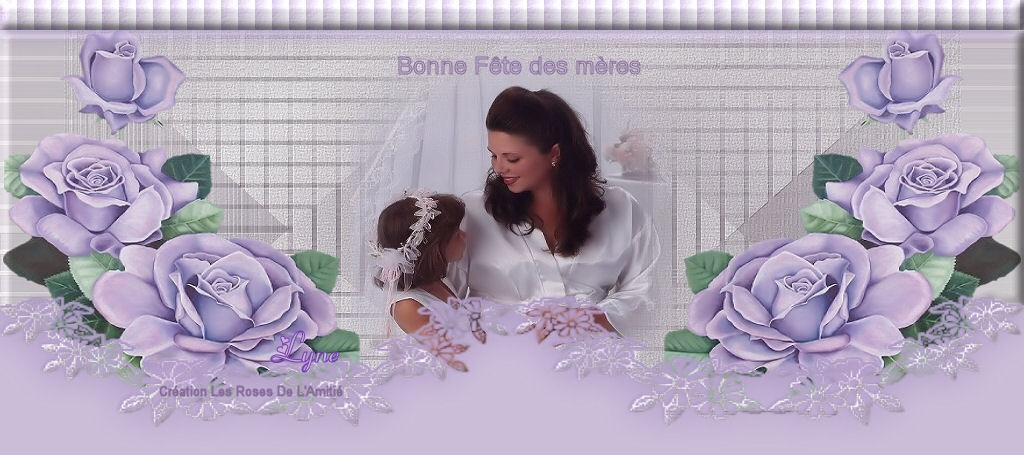Papiers à lettres Fête des mères page 01